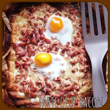 Tarte Oeuf Bacon