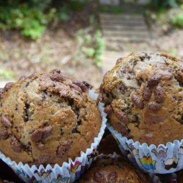 Muffins pepites de chocolat 2
