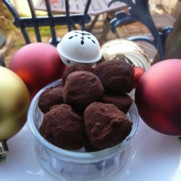 truffes chocolat tonka