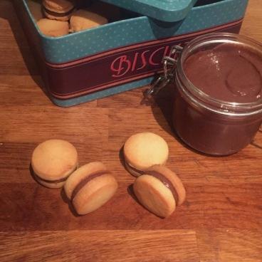 Biscuits au crémeux chocolat